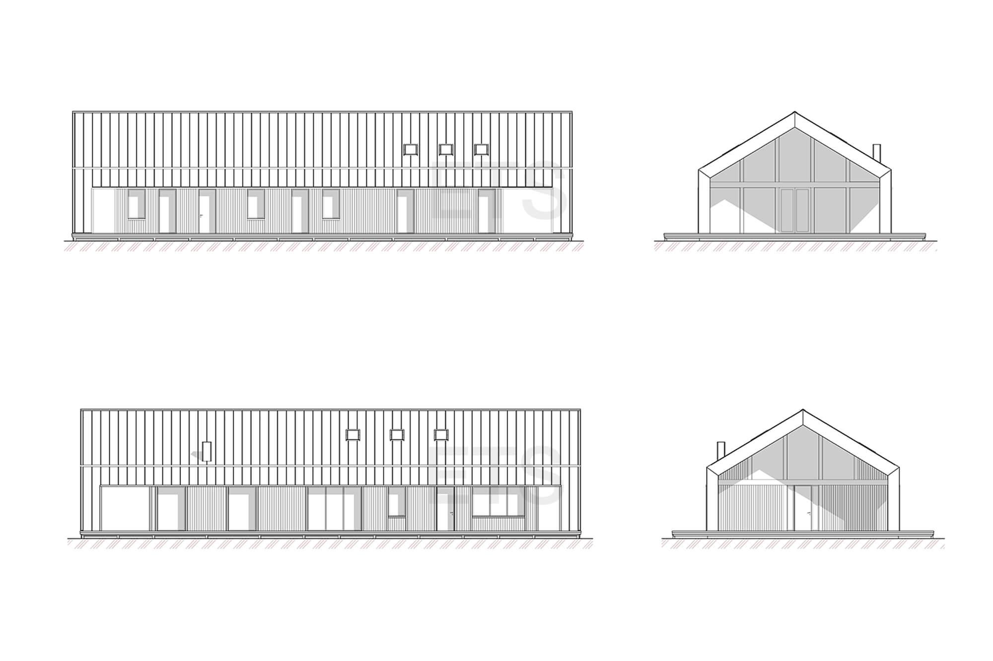 Фасады проекта Барнхаус (Barnhouse) от ETS