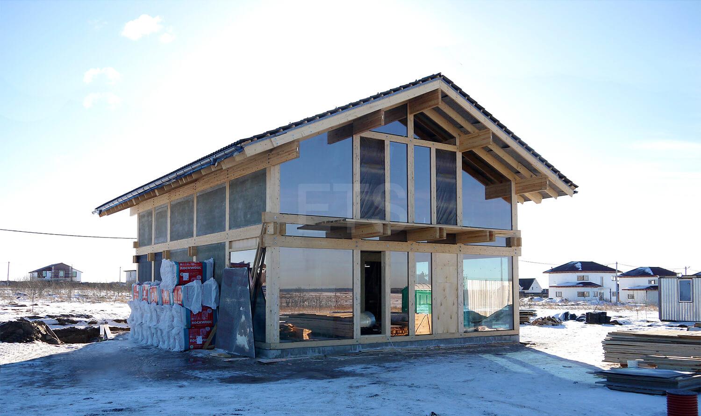 Строительство фахверкового дома Хаппо-Ое компанией ETS