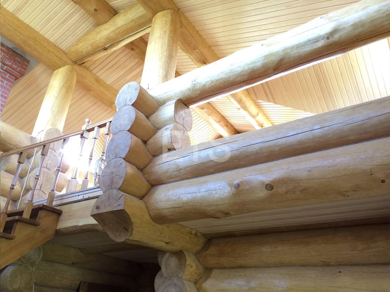 Проект бани из бревна в Запорожском