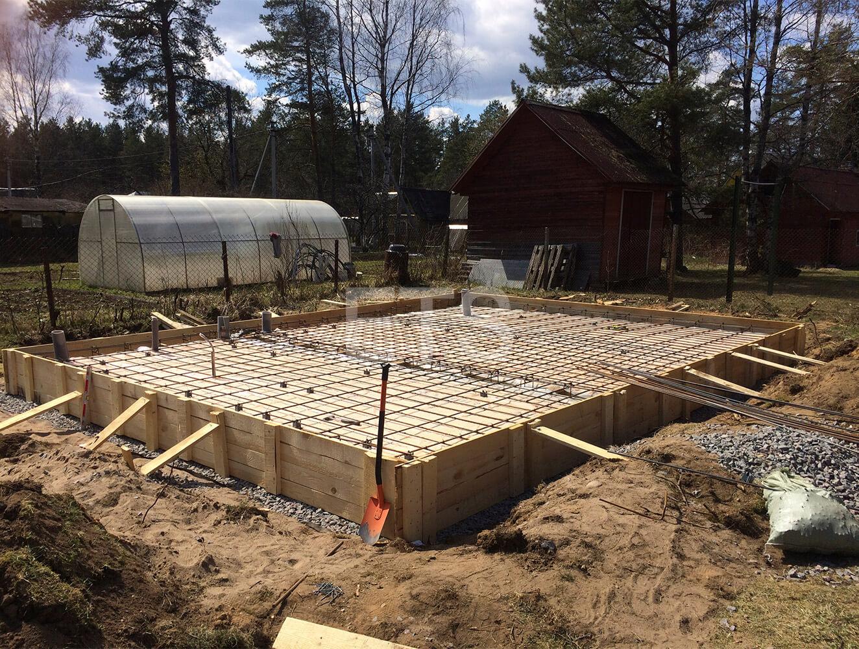 Строительство бани из клееного бруса, спроектированной и построенной ETS