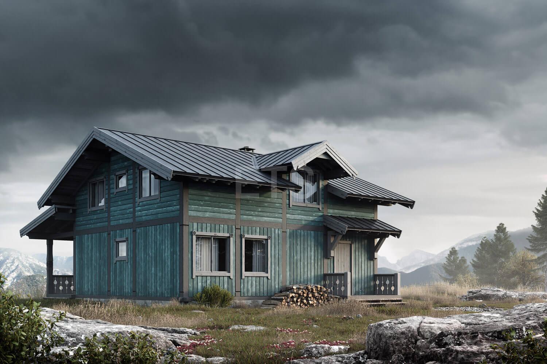 Проект скандинавского дома от ETS